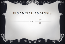 Financial Analysis } 001 } Investment, Speculation, and Trading }