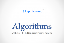 Algorithms } 011 } Dynamic programming and portfolio optimization }