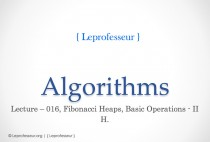 Algorithms } 016 } Data Structures } Fibonacci Heaps } Basic operations } 2 }