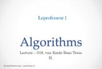 Algorithms } 019 } Data Structures } van Emde Boas [ vEB ] Trees }