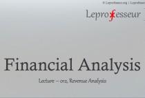 Financial Analysis } 012 } Revenue Analysis }