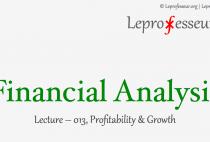 Financial Analysis } 013 } Profitability & Growth }