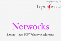 Networks } 00 } TCP/IP } Internet addresses }