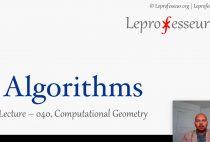 Algorithms } 040 } Computational Geometry }