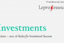 Investments } 002 } 16-Rules for Investments Success }
