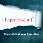 Profile picture of Leprofesseur }